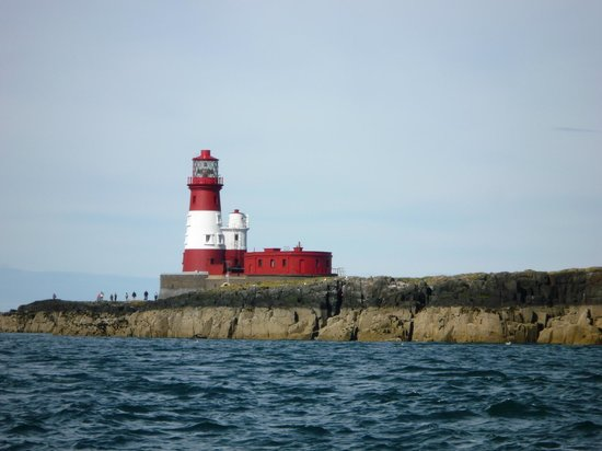 Farne Islands: The 'Grace Darling' lighthouse on Staple