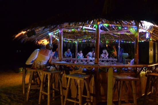 My Phangan Resort: beachside bar