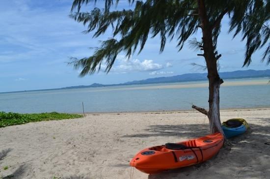 My Phangan Resort: private beach