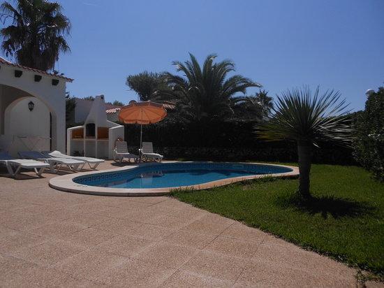 Villas Cala'n Bosch: Villa Sigfrid pool view