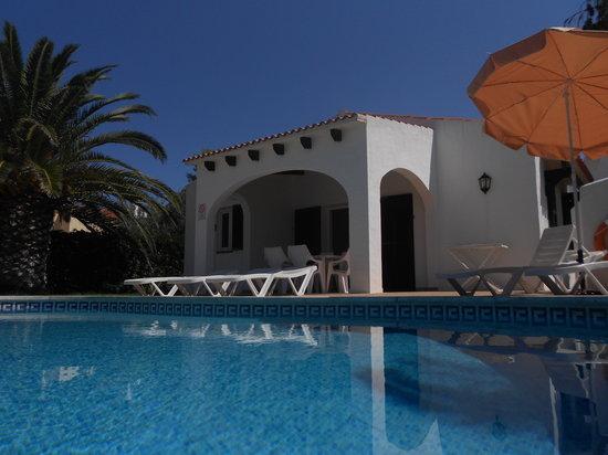 Villas Cala'n Bosch: Villa Sigfrid low level pool view