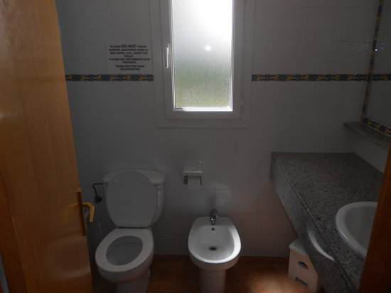 Villas Cala'n Bosch: Villa Sigfrid main bathroom