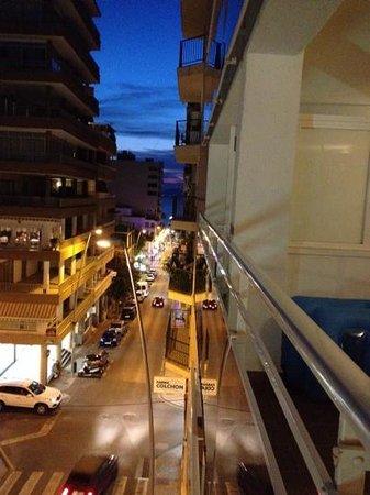 Hotel Don Pepe: vista dal balcone della nostra camera