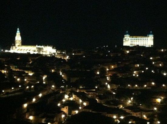 Restaurante La Ermita: Toledo desde La Ermita