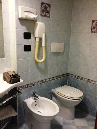 Blu Hotel : Bagno