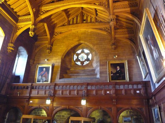 Bamburgh Castle: The state room