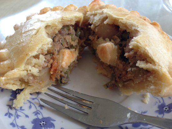 The Lord's Cafe : The most honest chicken pie - a whole load of ingredients packed in a very small package