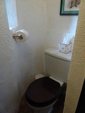 Castle Stuart - toilet in the turret