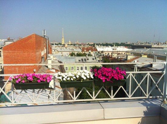 3MostA Boutique Hotel: Панорамная площадка/Panoramic deck