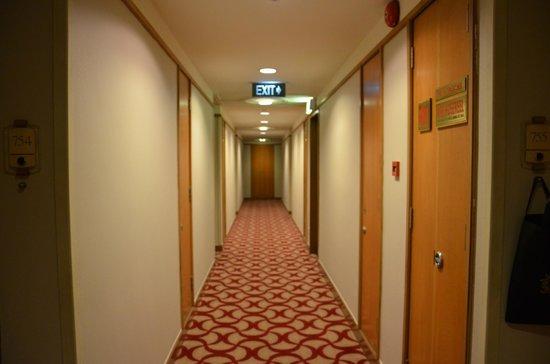Grand Park City Hall: 7th floor Hallway