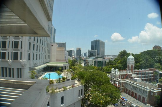 Grand Park City Hall: View from room