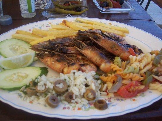 Dar El Houta : plat