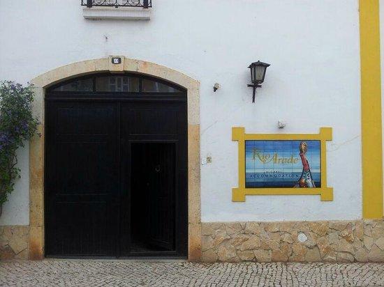 Rio Arade Manor House: Entrance