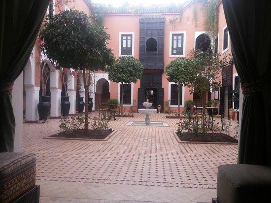 Les Borjs de la Kasbah: cour intérieur