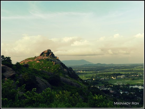 Purulia, India: view from joychandi pahar