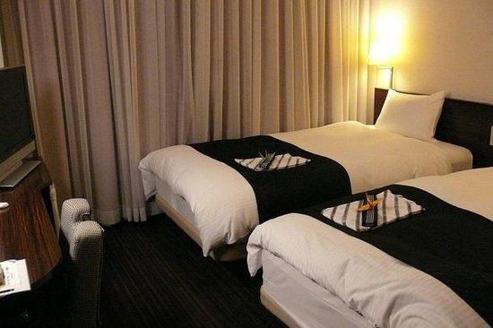 APA Hotel Tokyo Kiba: 客室がダブルでした。