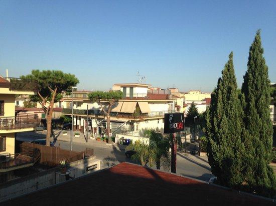 Hotel Leonessa: View from the balcony