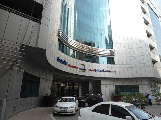 Cassells Al Barsha Hotel Dubai: Front of the hotel