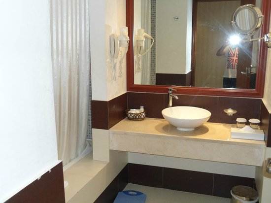 Cassells Al Barsha Hotel: The Bathroom