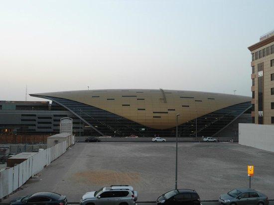 Cassells Al Barsha Hotel Dubai: View from the balcony