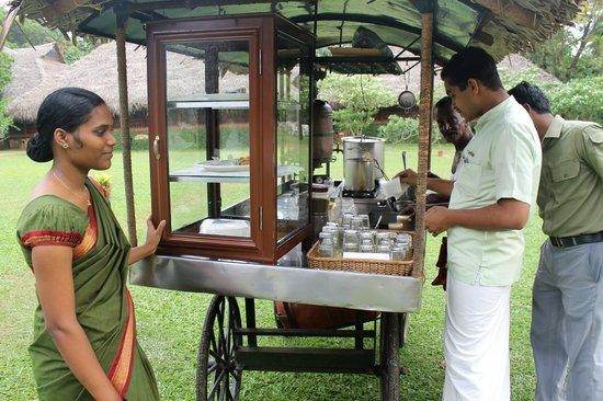 Marari Beach Resort : High Tea