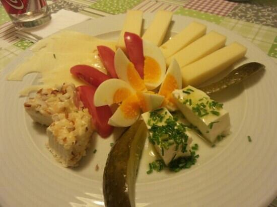 un piatto del Frohsinn