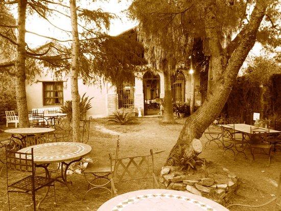 Hotel Rural Molino de Santillan : Terraza