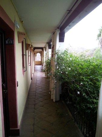 Hotel Rural Molino de Santillan : Pasillo de habitaciones