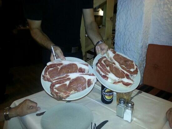 The Beefeater: sirloin steaks beefeater