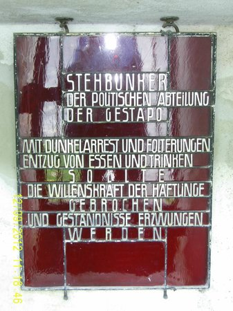 Gedenkstätte Mittelbau Dora: Shelter for SS/Gestapo only