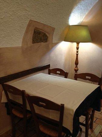 Taverna del Boscaiolo: interno