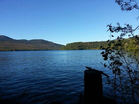 Brewster Peninsula Nature Trails : lake view bonus