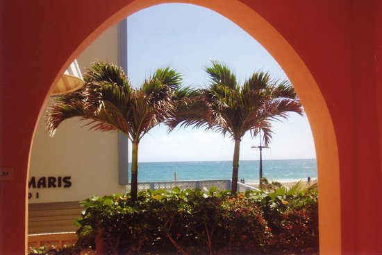 Canario Boutique Hotel : View from the entrance