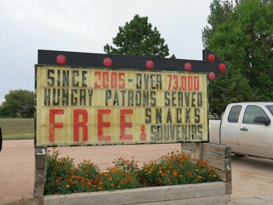 Fort Laramie American Grill & Restaurant: Imponerende!