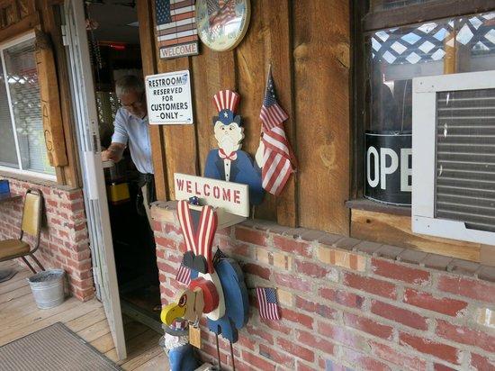 Fort Laramie American Grill & Restaurant: Restauranten udefra