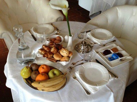 Palazzo Carletti: Breakfast