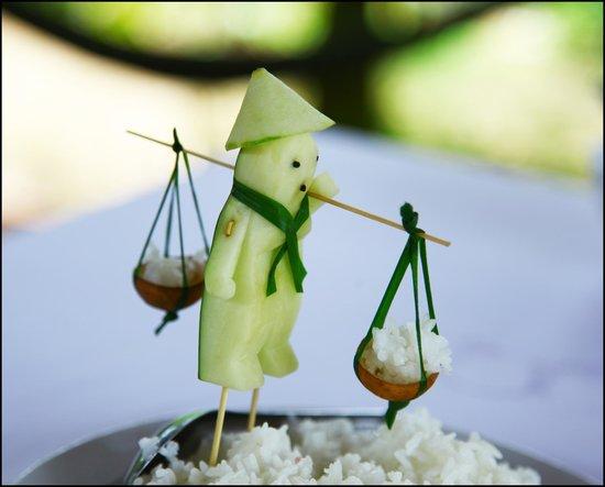 Ba Linh Homestay : Food Decoration