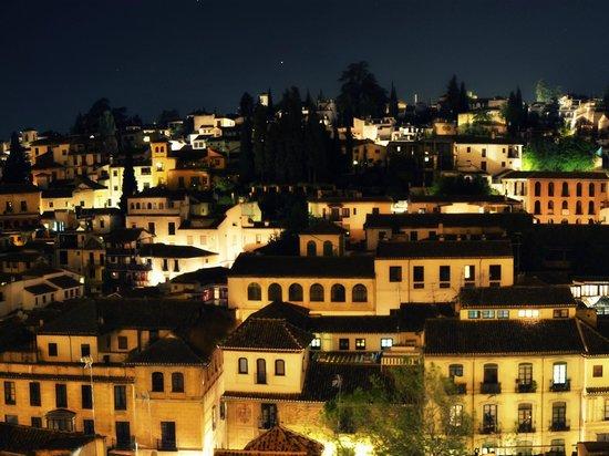 Posada de Quijada: Vistas de noche