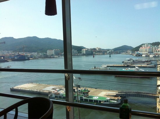 Hansan Hotel Condo: view of harbour