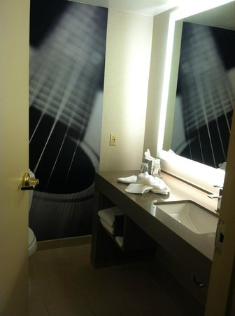 Renaissance Austin Hotel: Efficient Bathroom