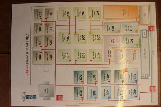 Synergy Samui Resort: room locations