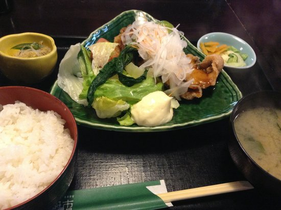 Tsukijiichibaichiba Nochubo: 日替わり定食