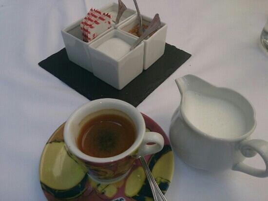 Osteria dell Enoteca: caffè