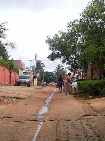 Hotel Napoleon Lagune : The street towards the ghetto
