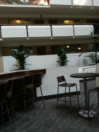 Embassy Suites by Hilton Tysons Corner : View from the bar area to our door