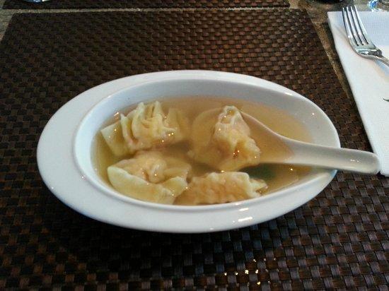 Asian Temptation: Shrimp Dumpling Soup