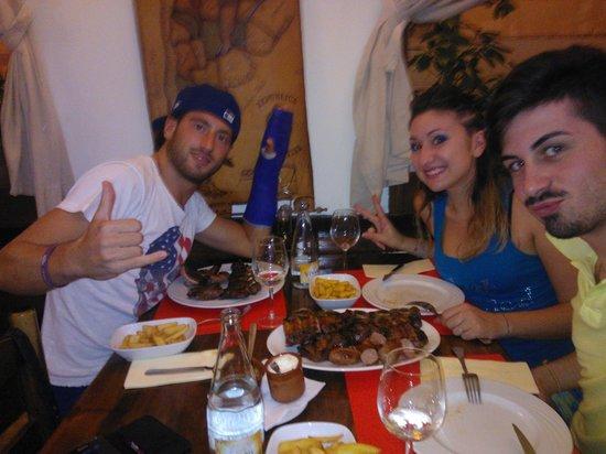 Restaurante EL Gaucho : la grigliata