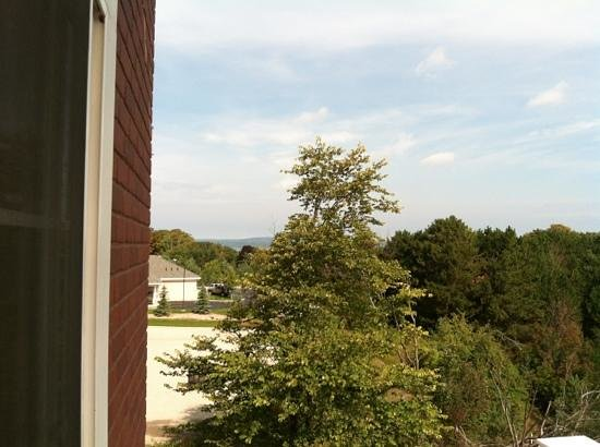 Holiday Inn Express Hotel & Suites Petoskey : Traverse bay from private balcony