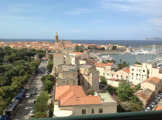 Hotel Catalunya: view from the junior suit bacony on the 8th floor