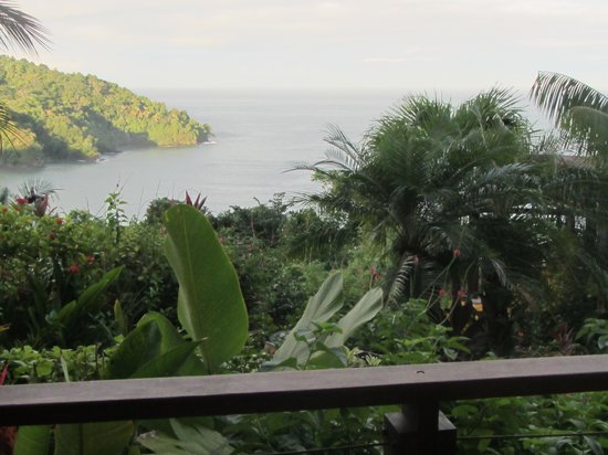 Tulemar Resort: view from our villa